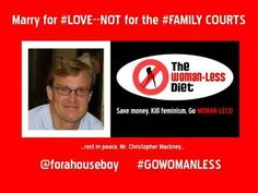 MGTOW/MRA Woman-Less Diet Tip #12: Marry For #LOVE--NOT For The #FAMILY ...