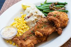 You won't get fooled by this dish - Southern Fried Catfish #nom