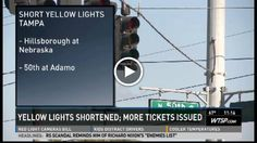 Florida's red-light camera intersections issuing more tickets after yellow light times quietly reduced