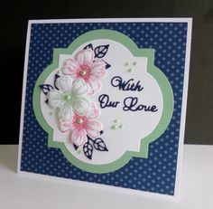 CC591 ~ With Our Love by sistersandie - Cards and Paper Crafts at Splitcoaststampers