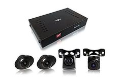 Gazer CKR4400 Universal 360 Degree Surround Bird Panoramic View System with 4 HD Cameras/Car DVR Function/Parking mode/16 GB Free Memory Card/Installation Kit *** Be sure to check out this awesome product.