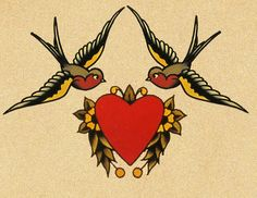 Swallow Tattoos | Another coined term in the UK for the swallow tattoo on the hands is a ...