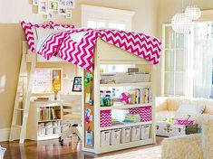 Teen/child Bedroom Set Up. Super Cute For Pre Teen Girl.