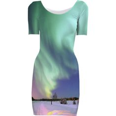 Aurora Short Sleeved Bodycon Dress - Available Here: http://printallover.me/products/0000000p-aurora-12