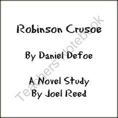 Robinson Crusoe - (Reed Novel Studies) from Reed Novel Studies on TeachersNotebook.com -  (70 pages)  - A Novel Study