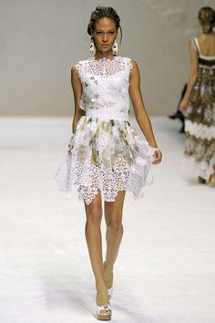 Dolce & Gabbana S-S 2011, Milan Fashion Week