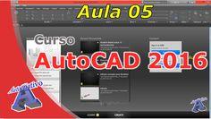 Curso de AutoCAD 2016 – Interface – Aula 05 – Autocriativo Autocad 2016, Classroom