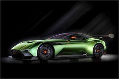 Aston Martin mostra no Geneva Motor Show 2015 (março 5-15) o Vulcan, um super carro esportivo para corridas