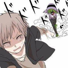 RUN KANO!! I am exactly like this with my sister. I have to get away from her when she's like this!!