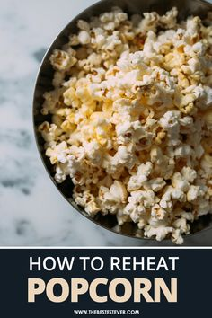 Want to know how to reheat popcorn? This short guide shows you step-by-step instructions as well as the best methods to use. No more stale popcorn! #popcorn #reheat #reheatfood Healthy Snacks Before Bed, Healthy Snack Options, Snack Recipes, Dinner Recipes, Healthy Recipes, Girly Movies, Clean Eating, Healthy Eating, Under 100 Calories