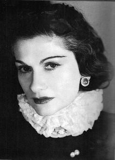 "Gabrielle Bonheur ""Coco"" Chanel -- French Fashion Designer (August 19, 1883 – January 10, 1971)"