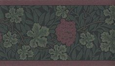 William Morris Vine Wallpaper Border WR8043/3
