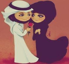 """الناس تقرأ بنظراتك """"عناويني"""" وتقرأ بعيني علومك قبل """"تنطقها"""" ولو توقف أمه محمد """"بينك وبيني"""" روحي و روحك هوى حبنا """"يعانقها"""" مكانك (القلب) لامن طحت من عيني فاتح لك :- """"أبواب حب كنت مغلقها"""""""