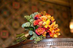 #orange #bouquet by Floral Fields