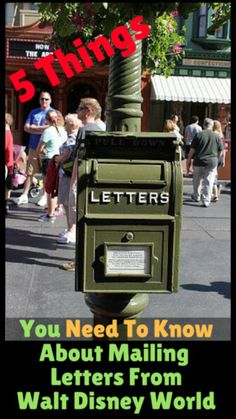 5 Things You Need To Know About Mailing Letters From Walt Disney World - Couponing to Disney