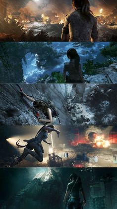 According to Square Enix, shadow of the Tomb Raider will be the biggest game in the trilogy and will feature new combat techniques, smoother gameplay. Tomb Raider Movie, Tomb Raider 2018, Tomb Raider Game, Tomb Raider Lara Croft, Nathan Drake, Indiana Jones, Lara Croft Game, Travel Around The World, Around The Worlds