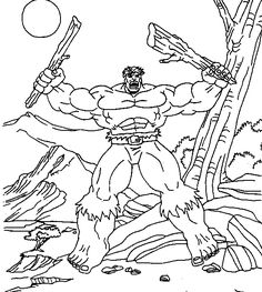 star trek coloring pages | 11 Hulk Coloring Pages | Free Coloring Page Site