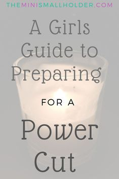 Tips tricks and hints for coping with a power cut. How to put a power outage kit together and have a box ready. Being prepared never seemed so much fu. Emergency Preparedness, Power Outage Preparedness, Hurricane Preparedness, Emergency Planning, Emergency Supplies, Survival Prepping, Survival Gear, Survival Skills, Power Outage Kit