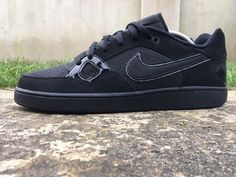 3b3d4a57e148 Nike Son of Force Low Size 9 UK EU 44 Black Mens Trainers 616775-005
