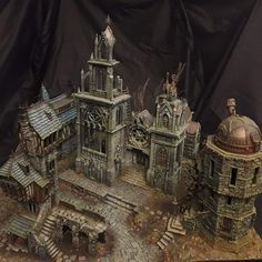 Warhammer Figures, Warhammer Aos, Diorama, 40k Terrain, Waiting For Him, Fantasy, Decoration, My Friend, Scenery