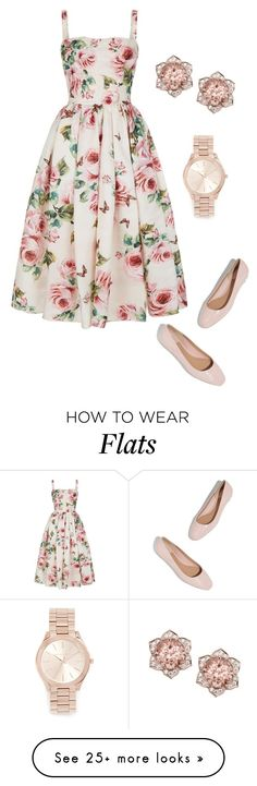 """Who's ready for Spring?"" by giulia-ostara-re on Polyvore featuring Dolce&Gabbana and Michael Kors"