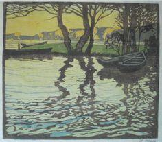 Helene Mass - Lake - (1871-1955)