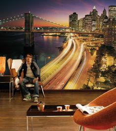 NYC Lights  Aufregend, pulsierend, dynamisch: Das Lichtermeer der Metropole New York.  http://www.fototapete.de/index.php/nyc-lights-1.html
