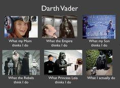 Vader - he's just misunderstood!