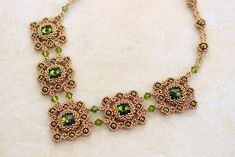 Tutorial for necklace 'Royal Duchess' - English