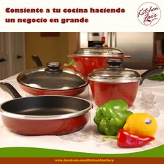 Consiente a tu cocina haciendo un negocio en grande