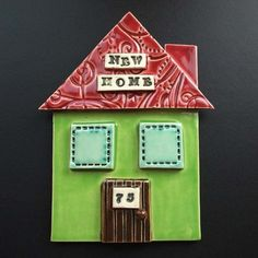 New Home plaque made to order £12.00