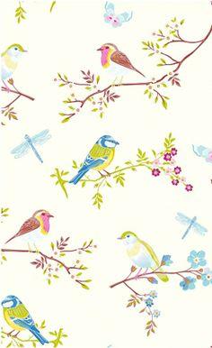 Papier Peint Early Bird