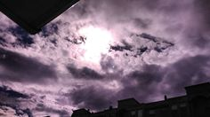 La lucha del sol con las nubes