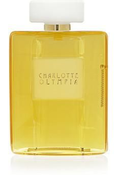 Charlotte Olympia Yellow Scent Perspex clutch