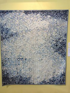 Drift Ice by Toshie Yamagata at Tokyo Quilt Festival 2013, from SewBlossomHeart, via Flickr