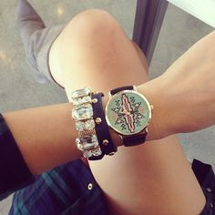 Aztec Print Watch