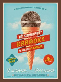 40 Creative Party and Club Flyers