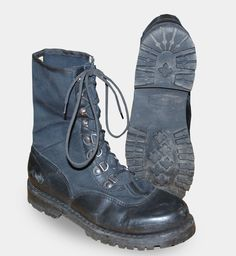 Austrian Black Jungle Combat Boots > BOOTS | SHOES | SOCKS > GI Surplus Bulk Army Surplus Wholesaler > LAGENFELD LTD | GI Surplus