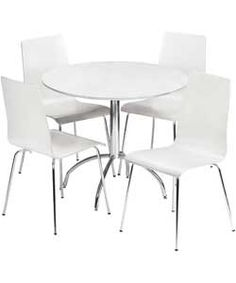 Buy Eydon Clear Glass Dining Table And 4 Chairs At Argos