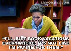 Michelle Obama Expenses | Michelle Obama's Spain Vacation Cost Taxpayers $467,585