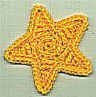 SMALL STAR ~ free pattern