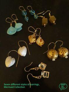 Wire Jewelry, Jewelery, Mermaid Jewelry, Copper Wire, Craft Stores, Hippie Boho, Different Styles, Earrings Handmade, Nautical