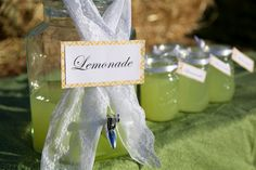 Every sip & see party needs a lemonade stand like this!