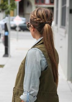 Plait & ponytail!