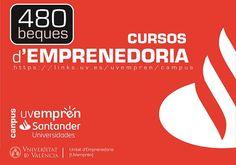 UVemprén Campus convoca 480 beques de formació en emprenedoria Logos, Day Planners, Universe, Logo