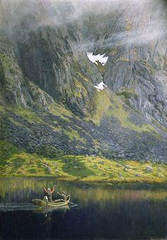 Theodor Kittelsen (Norwegian, 1857–1914) : Echo