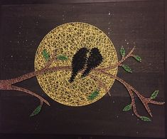 Love Birds String Art - Do you have that special someone in your life?
