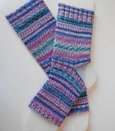 "The most comfortable seam free socks you'll ever wear.MULTISIZE YOGA/PILATES/GYM SOCKSThese yoga/pilates/gym socks with open toe and heel prevent slipping and sliding.Full range of sizes from UK 3 - 12 / US 6 – 13This is a tried and tested pattern.Knitted from the top down.Sock top is approx 6"", but can be lengthened by adding extra rows.I have calculated the number of rows to knit for each size in a handy chart as well as knitting instructions and tips to make your s..."