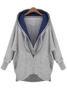 今季最も旬ファッション魅せるパーカージャケット
