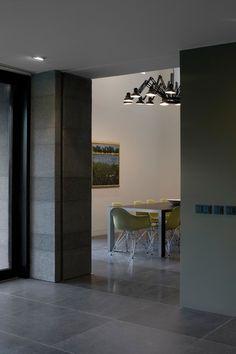 O+M Basalt (or Bluestone) honed tiles Grey Floor Tiles, Wood Tile Floors, Grey Flooring, Stone Flooring, Kitchen Flooring, Build My Own House, Flur Design, Hallway Designs, Dining Room Inspiration